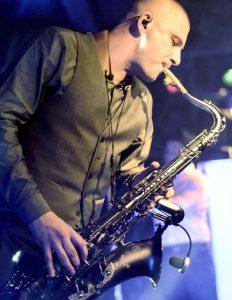 sax music band